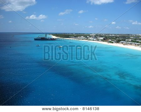 Clear Blue Water on the Beach
