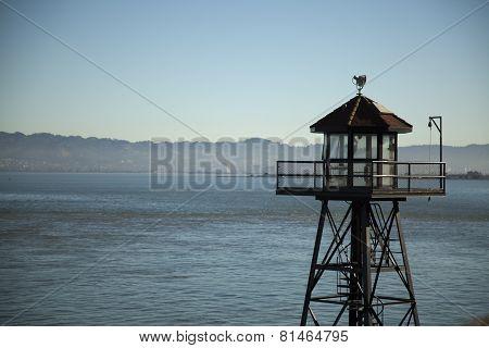 Guard Tower on Alcatraz Island