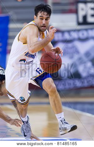 Paok Thessaloniki Vs Khimki Eurocup Game