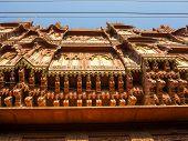 beautiful old haveli in Bikaner Rajasthan India poster