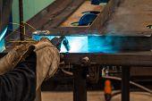 Gas metal arc welding (especially metal inert gas or MIG welding) poster