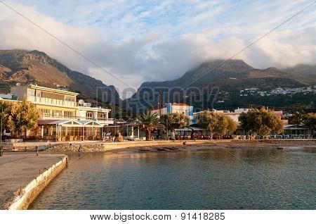 Plakias Bay In The Morning Sun Shine