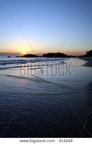 Sunrise At Port Macquarrie Beach 2