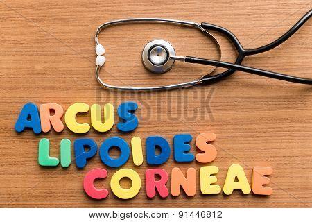 Arcus Lipoides Corneae