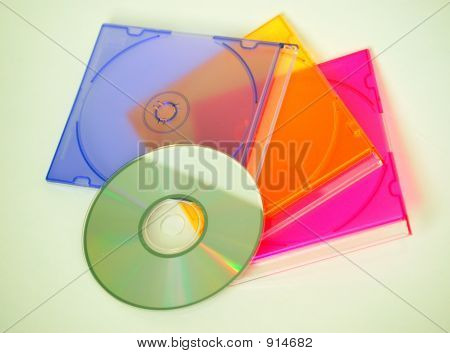 Cd With Cd Cases