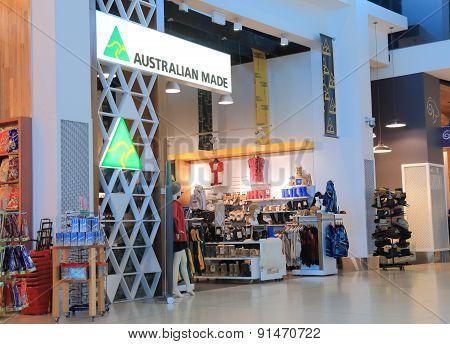 Retail shop Australia