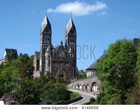 Clervaux Catholic Church, Luxembourg