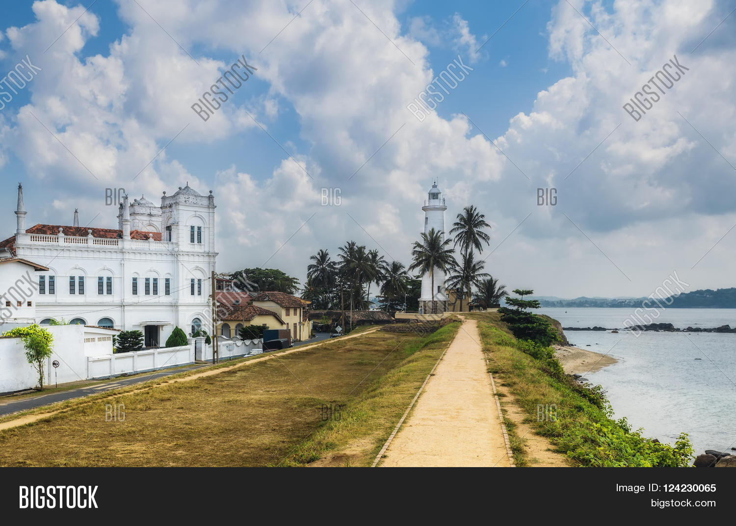 Galle Fort Sri Lanka Image Photo Free Trial Bigstock