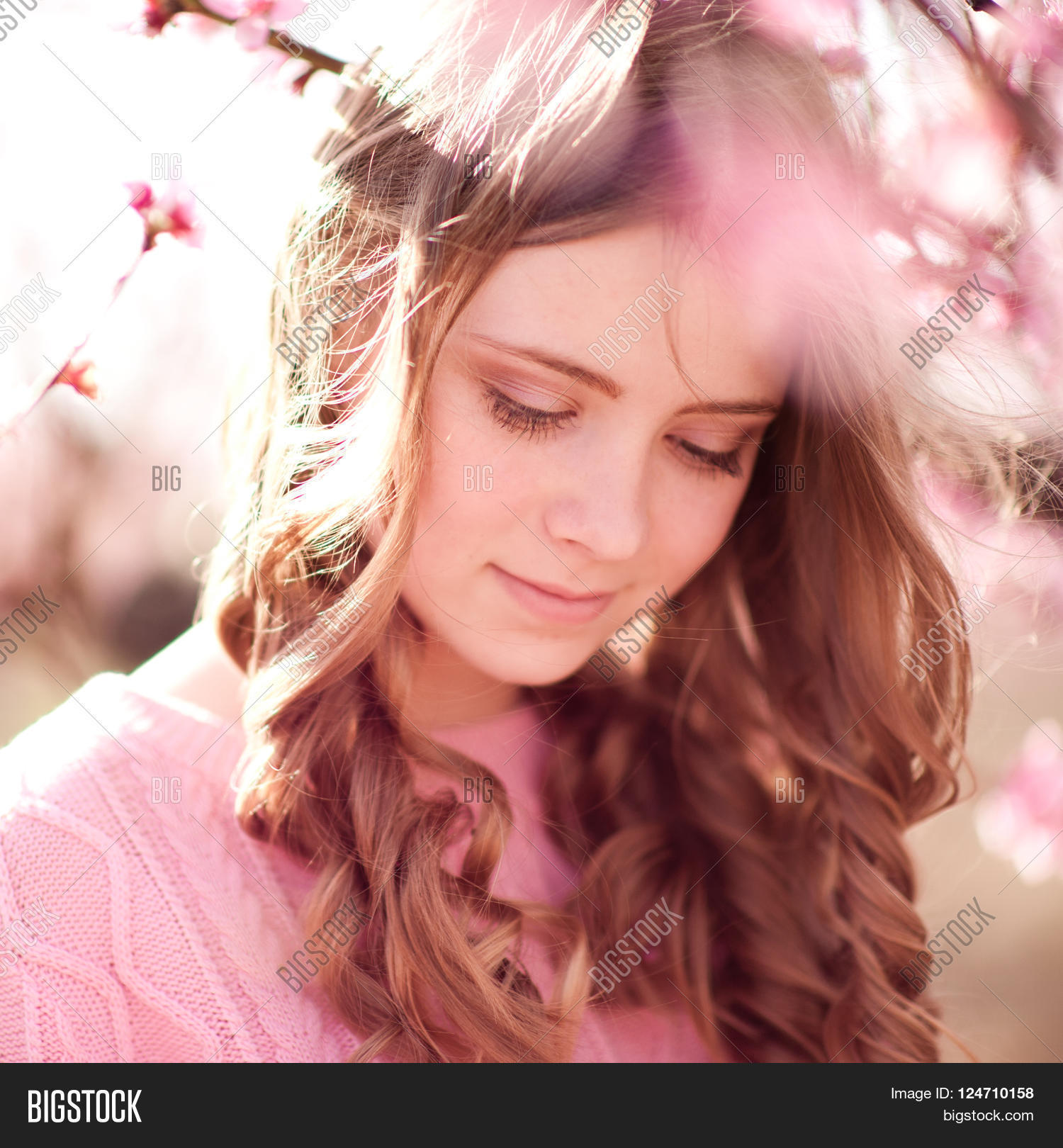 Pretty Girl With Brown Hair 16: Beautiful Teen Girl 14 Image & Photo (Free Trial)