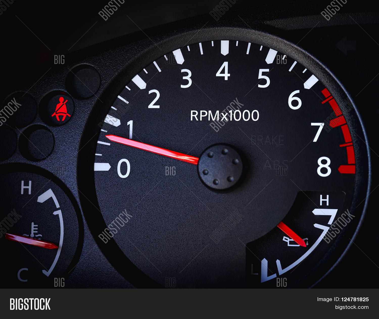 Close Car Tachometer Image & Photo (Free Trial) | Bigstock