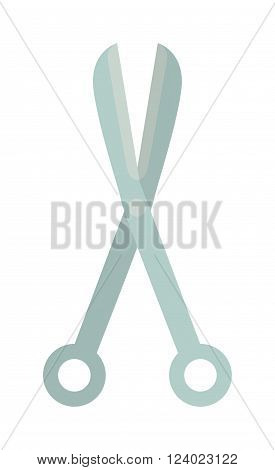 Medical surgeon scissors illustration. Surgeon scissors medical hospital equipment. Surgeon scissors medical equipment. Surgeon scissors. Surgeon scissors medicine equipment.