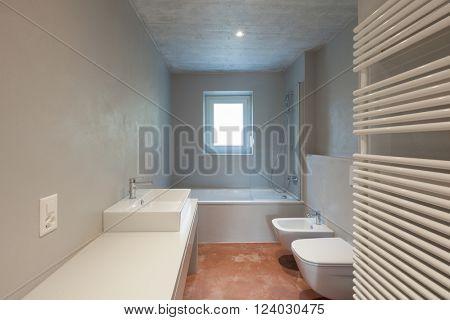 Modern house interior, nobody inside