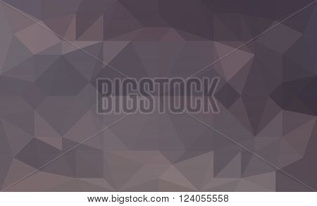 Grey abstract triangular low poly picture as background