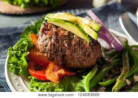 Fresh Grilled Paleo Hamburger