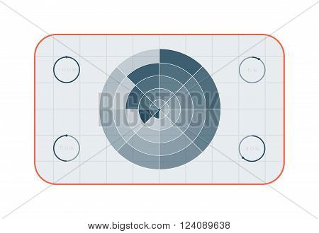 Crosshair target with red dot and target accuracy game circle. Target circle concept dartboard, business goal strategy. Winner target marketing. Crosshair target symbol success aim circle vector.