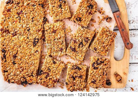 Homemade Protein Granola Bars