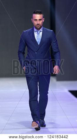 Sofia Fashion Week Man In Suit