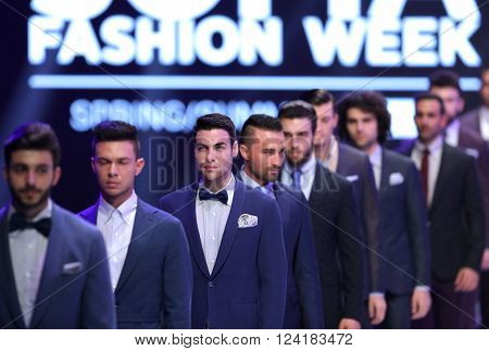 Sofia Fashion Week Men In Suits