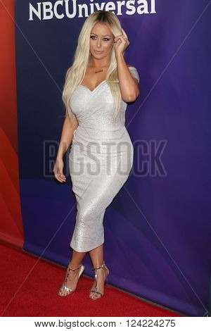 LOS ANGELES - APR 1:  Aubrey O'Day at the NBC Universal Summer Press Day 2016 at the Four Seasons Hotel on April 1, 2016 in Westlake Village, CA