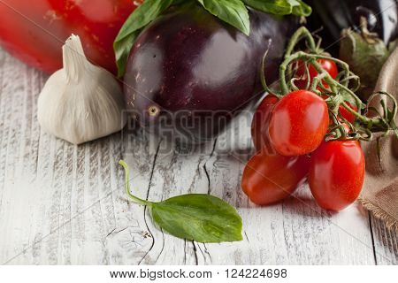 Mix Of Fresh Vegetables