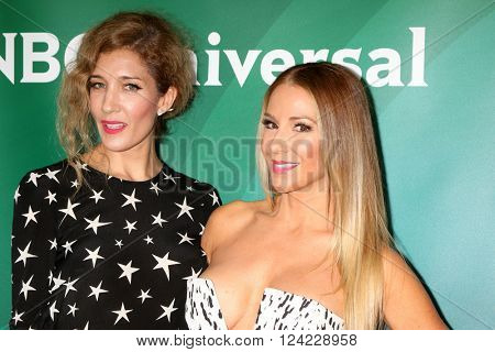 LOS ANGELES - APR 1:  Stephanie Fair, Leah Forester at the NBC Universal Summer Press Day 2016 at the Four Seasons Hotel on April 1, 2016 in Westlake Village, CA