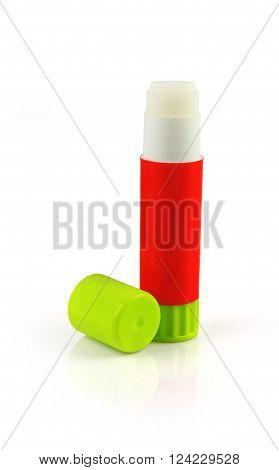 Indian Made Glue stick Isolated on White Background