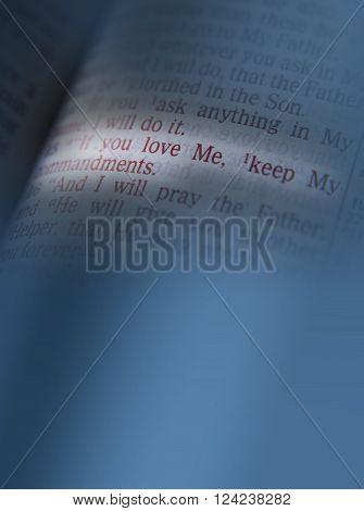 If You Love Me, Keep My Commandments