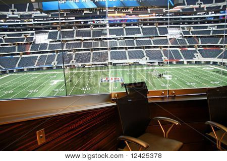 Cowboys Stadium From Jones Suite