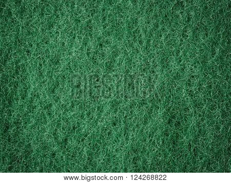 Green fibrous surface macro texture pattern background