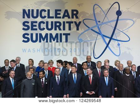 Nuclear Security Summit In Washington, 2016