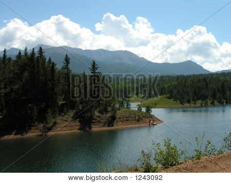 A Lake On Pikes Peak.