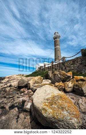 Lighthouse in Jose Ignacio near Punta del Este Uruguay