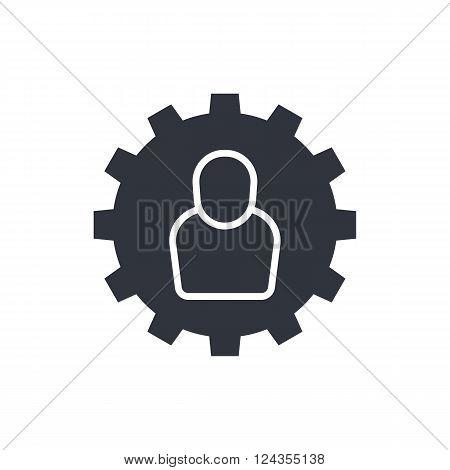 User Settings Icon In Vector Format. Premium Quality User Settings Icon. Web Graphic User Settings I