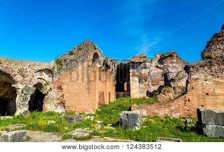 The Amphitheater of Capua, the second biggest roman amphitheater - Italy