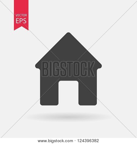 Home icon, Home flat icon, Home web icon, Home icon vector, Home icon eps, Home pictograph, Home icon picture, Home logo design, Home icon art, Home icon jpg, Home icon object. Vector illustration