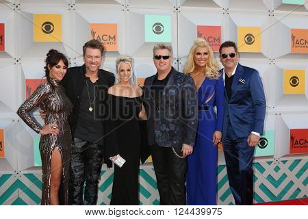 LAS VEGAS - APR 3:  Rascal Flatts at the 51st Academy of Country Music Awards Arrivals at the Four Seasons Hotel on April 3, 2016 in Las Vegas, NV