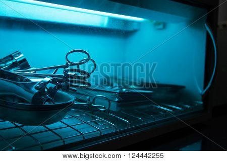 sterilizing of the medical instrument