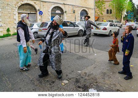 Breslov Hasidic Jews Dance
