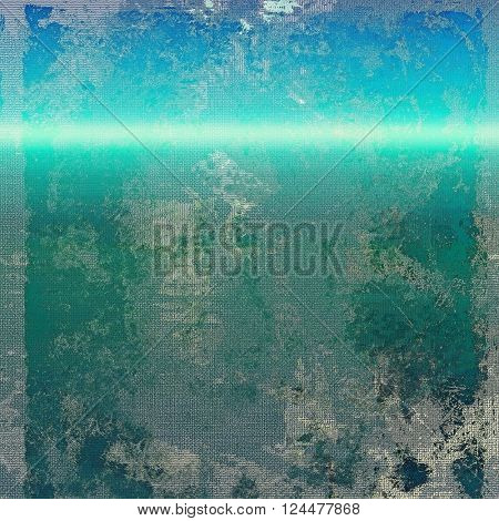 Cute colorful grunge texture or tinted vintage background. With different color patterns: green; blue; gray; cyan