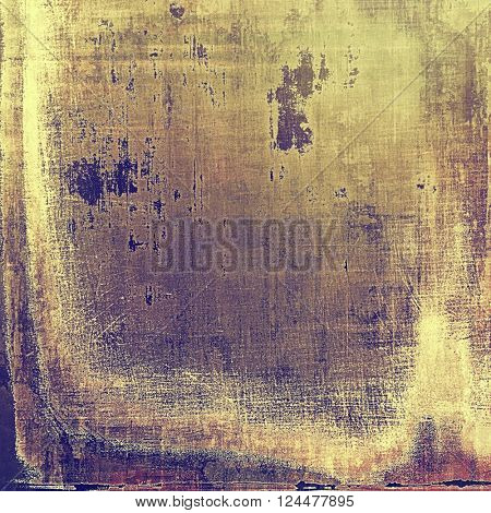 Creative vintage surface texture, close up grunge background composition. With different color patterns: yellow (beige); brown; purple (violet); pink; gray