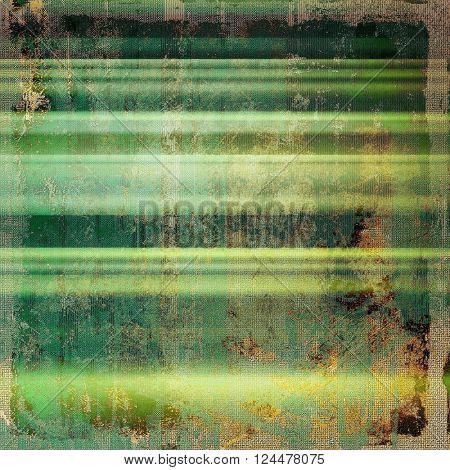 Grunge texture in ancient style, aged background with creative decor and different color patterns: yellow (beige); brown; green; blue; gray