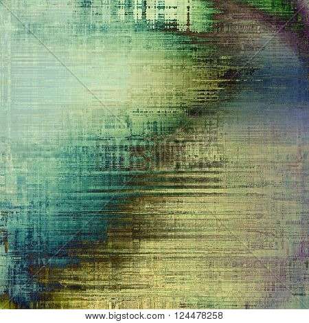 Grunge texture, decorative vintage background. With different color patterns: yellow (beige); brown; green; blue; gray; cyan