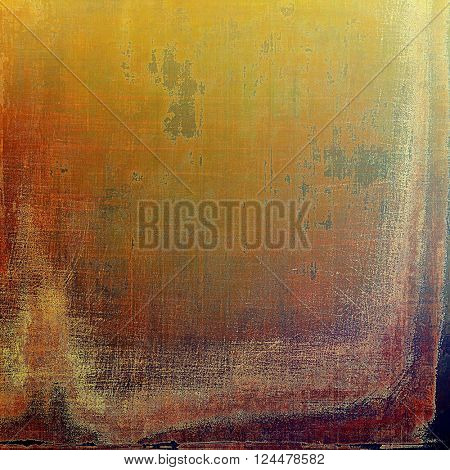 Old crumpled grunge background or ancient texture. With different color patterns: yellow (beige); brown; green; red (orange); purple (violet)