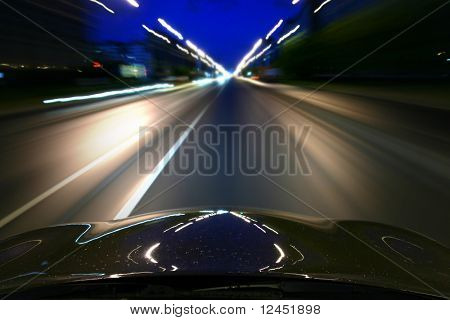 speed drive motion blur