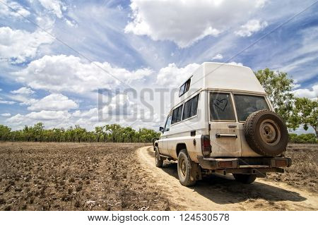 4WD off-Road in Northern Territory