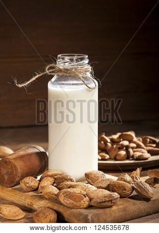 Almond Milk With Almond