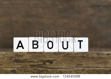 The Word About Written In Cubes