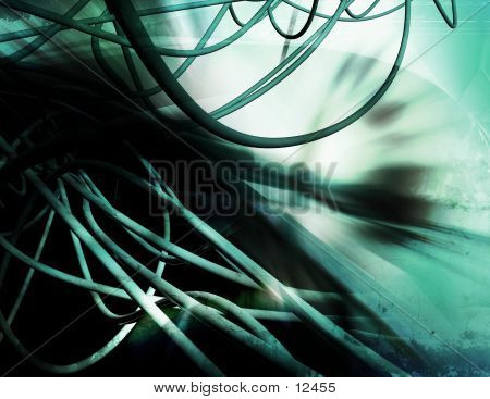 Abstract, Three Dimensional, Digital Background 5