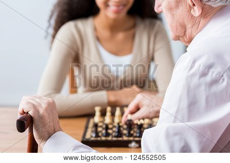 Carer, Patient And Duel In Chess