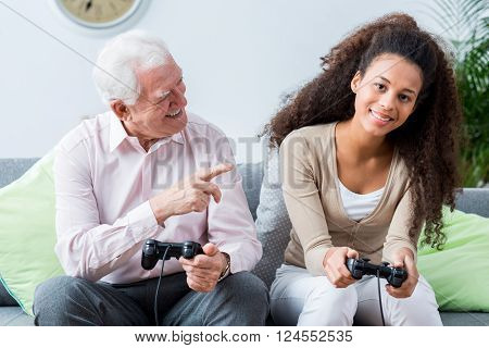 Elders Winning In Video Games With Youth
